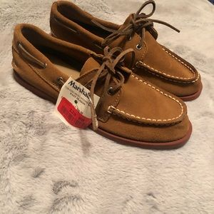 *New with Tags* Sperry Brown Suede Top Slider 2.5
